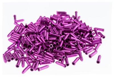 變速線和煞車內線 鋁質線尾套/尾帽 紫色《意生自行車》