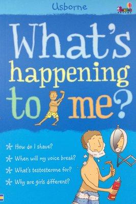 [邦森外文書] What's Happening to Me? (Boy) 平裝本 我到底怎麼了? 青春期男孩的健康教育