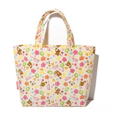超級特價加購款 【現貨不用等】日本日文vivi雜誌附贈Rilakkuma 拉拉熊 懶懶熊 托特包 尼龍便當袋 手提包