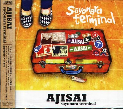 K - AJISAI - sayonara terminal - 日版 - NEW