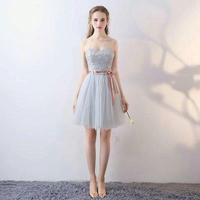 天使佳人婚紗禮服旗袍~ 伴娘小禮服蕾絲