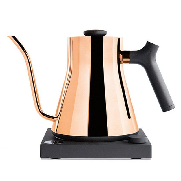 【咖啡逗】免運 FELLOW STAGG EKG 900 電子溫控壺 玫瑰金 * 送耶加雪夫-伊迪朵咖啡豆半磅*