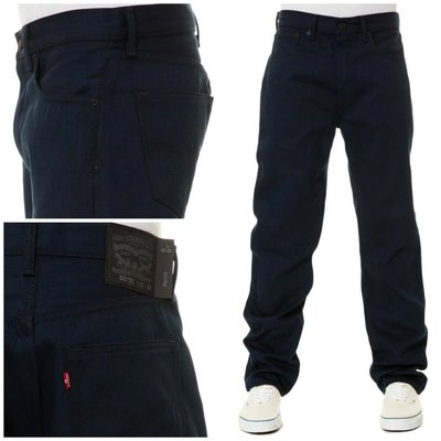 【新款養褲原色28-44腰】美國LEVI S 501 cobalt上漿黑藍重磅硬挺 經典直筒牛仔褲優惠501XX