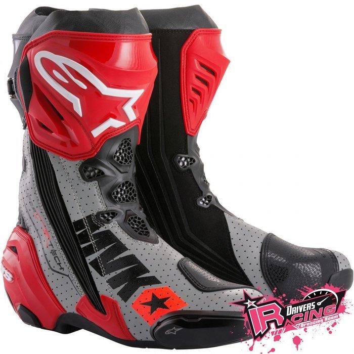 ♚賽車手的試衣間♚ Alpinestars® SUPERTECH-R Mach1 Viñales 打洞 賽車靴 限量