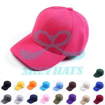 [SREY帽屋]硬挺板 高磅數 棒球帽 18色全賣場最多 外銷品質 長期現貨供應