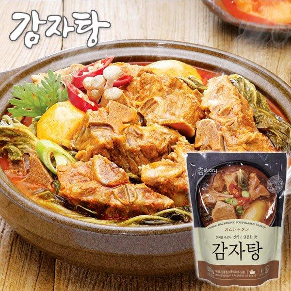 韓國 真韓馬鈴薯豬骨湯1000g 速食調理包[KO8809033]健康本味