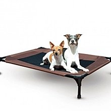 狗狗寵物床網面/透氣/可拆洗/防潮濕 行軍床 小中大型犬