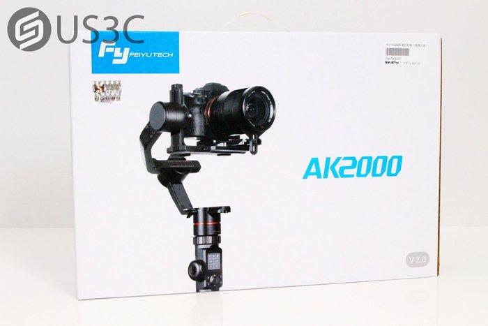 【US3C】【全新未拆】先創公司貨 Feiyu飛宇 AK2000 單眼相機三軸穩定器 滾軸360度旋轉 即時操控跟焦變焦