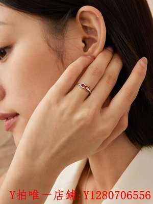 戒指KADER 情侶戒指純銀男女一對時尚個性對戒小眾設計年新款潮滿額免運