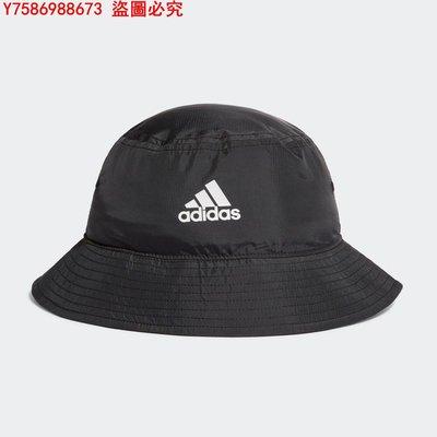 專櫃正品Adidas愛迪達夏季新款男女帽日系漁夫帽訓練運動休閑遮陽GE4739