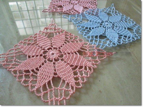 毛線、夏紗~編織蕾絲杯墊材料包~多色任選!手工藝材料、編織工具、進口毛線、夏紗<彩暄手工坊>