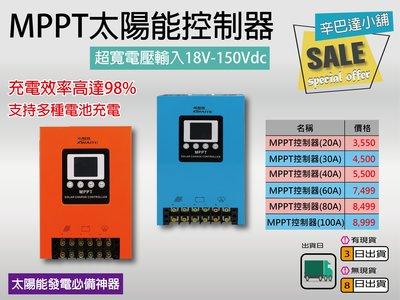 太陽能發電必備神器-希耐特MPPT控制器(20A-100A)