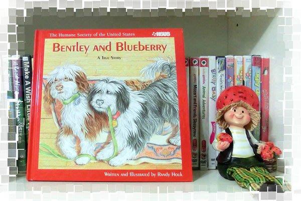 *【兒童英語繪本】*小pen外文童書家--Bentley and Blueberry ~ A true Story