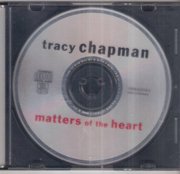 Tracy Chapman-matters of the heart (德版 無封面) - 二手CD(託售)