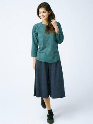 WaShiDa【GOBW1603】Good On 日本品牌 女裝 GAUCHO PANTS 純棉 舒適 長褲 褲裙 寛版
