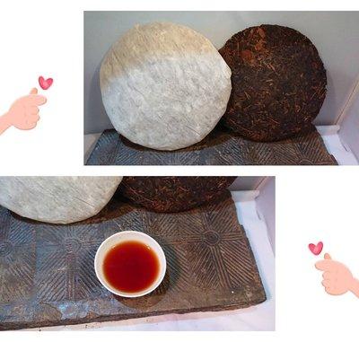 2000年野生江城餅  普洱茶