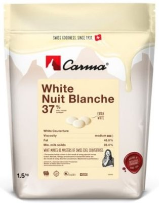 Carma 咖瑪 瑞士 特級 乳白巧克力 37% - 1.5kg  穀華記食品原料