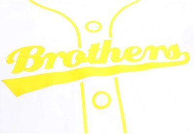 【黑芳HaveFun】中信兄弟 BROTHERS KIDS 兒童偽球衣T(白) 短袖 T恤 運動 純棉