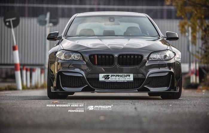 【樂駒】PRIOR DESIGN PD55X Widebody BMW 5er F10 寬體 外觀 改裝 空力