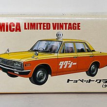 Tomytec Tomica Limited Vintage Toyopet Crown Taxi