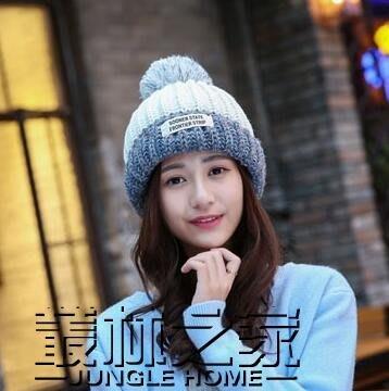 秋冬季針織帽韓版女男毛線帽子休閒韓版甜美可愛冬天潮套頭帽韓國