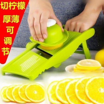 切片機 多功能切菜神器刨絲水果機黃瓜土豆片檸檬切片器廚房用品手動家用