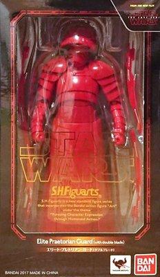 日本正版 萬代 S.H.Figuarts SHF 星際大戰 菁英禁衛軍 雙刃 雙刀 可動 公仔 模型 日本代購