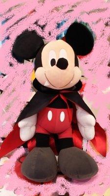4165本通 板橋店  Disney 萬聖節 吸血鬼米奇  日版 絨毛 布偶 玩具