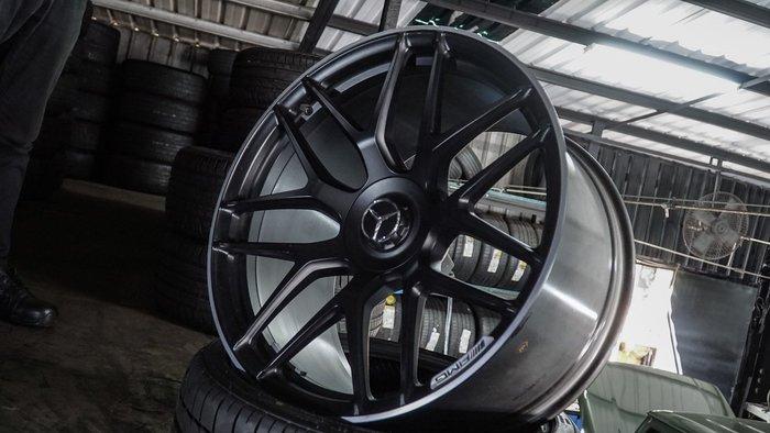 國豐動力 GT63 X290 4門 AMG 原廠鍛造21吋鋁圈含胎 275/35/21 315/30/21 米其林 PS4S 10/11.5J ET30