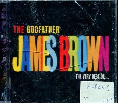 *真音樂* JAMES BROWN / THE GODFATHER 全新 K29056 (殼裂)