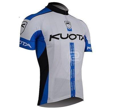 疾風騎士 2013款德國KUOTA藍色 短袖自行車衣 單車衣 腳踏車衣 腳踏車服 頂級排汗透氣