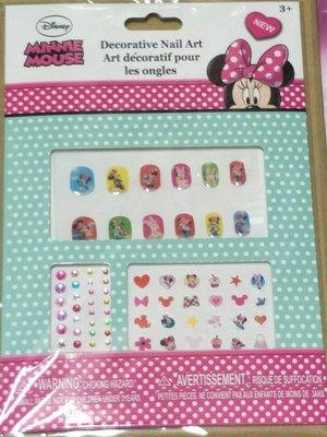 ☆草莓花園☆兒童女寶寶DIY創意卡通指甲貼 卡通裝扮貼貼紙