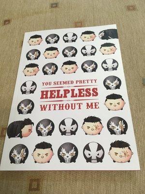 【二手】you seemed pretty helpless without me (美國隊長2 同人誌)