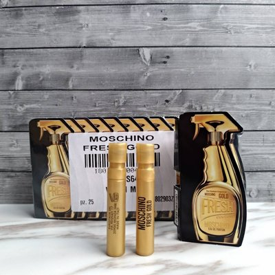Moschino Gold Fresh Couture 亮金金 小清新 1ml  針管小香  ✪棉花糖美妝香水✪