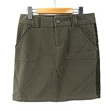 【艾.莉娜】OLD NAVY 鑽石絨邊 中腰多口袋 短窄裙 2號(約30腰) ~ 2G105
