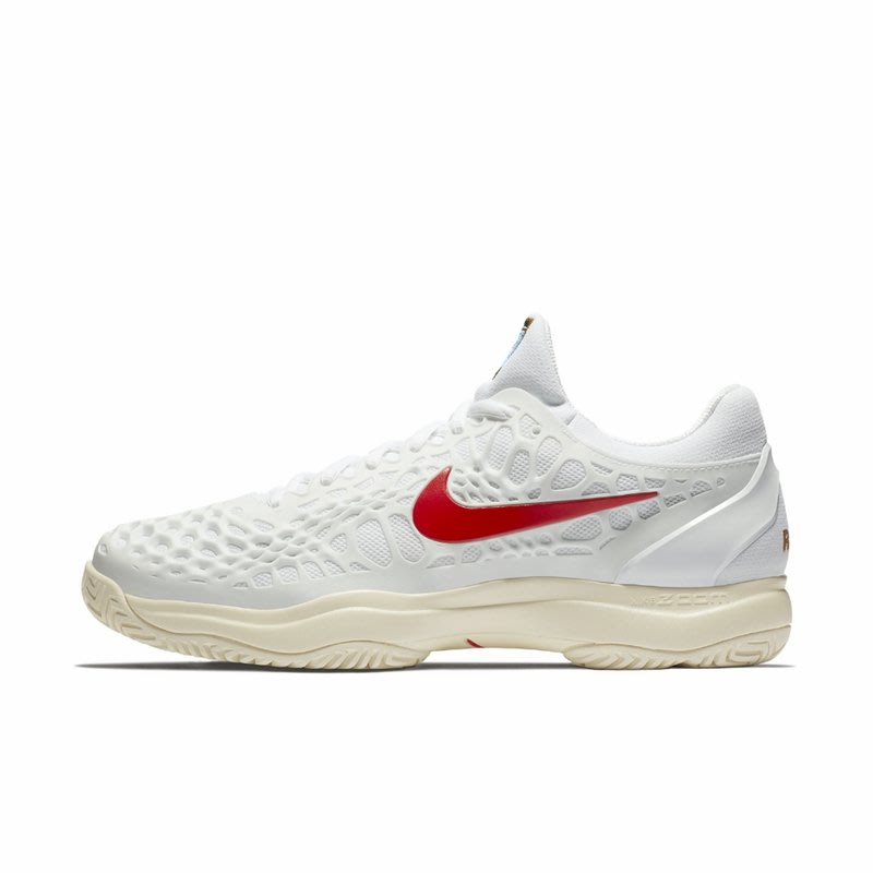 R代購公司貨 NIKE Air Zoom Cage 3 HC Rubber And Mesh Tennis 哈密瓜 女
