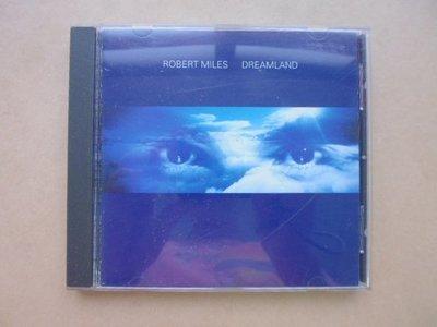明星錄*1996年美國版.ROBERT MILES首張電子舞曲專輯DREAMLAND二手CD(k375)