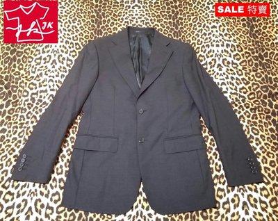 專櫃品牌 Z&A 西裝外套 羊毛 紳士品格款-男款-46號-鐵灰【JK嚴選】LV 太陽的後裔