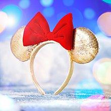 Disneyland Minnie Wishmas Ears 迪士尼 米妮 星願耳朵 髮箍 頭箍