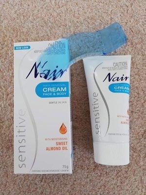 澳洲 Nair Hair Removal Cream 150g(大)溫和無痛除毛膏 敏感肌適用