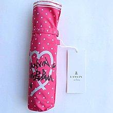 (QQ) 購自日本 日版 Lanvin en bleu 超輕 大size 波點 縮骨雨傘 遮 umbrella