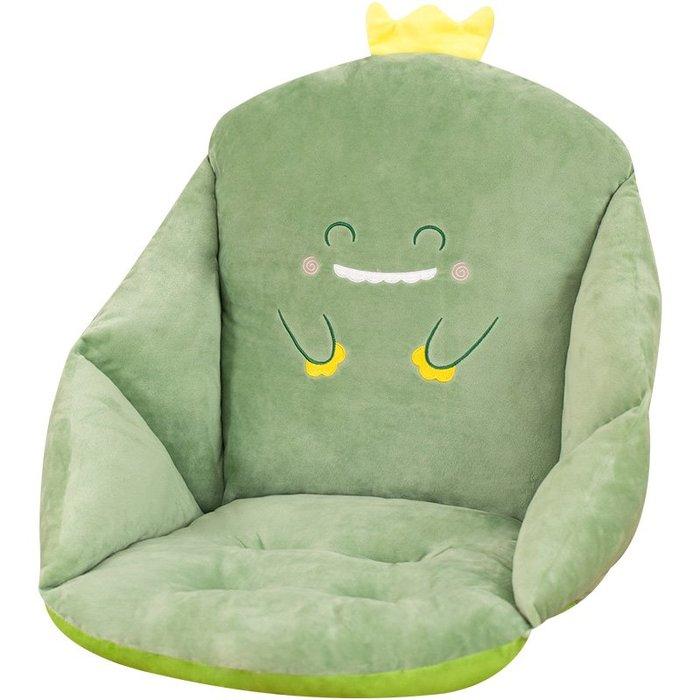 坐墊坐墊辦公室久坐學生神器帶靠腰不累久孕婦軟超軟一體加厚椅子靠墊