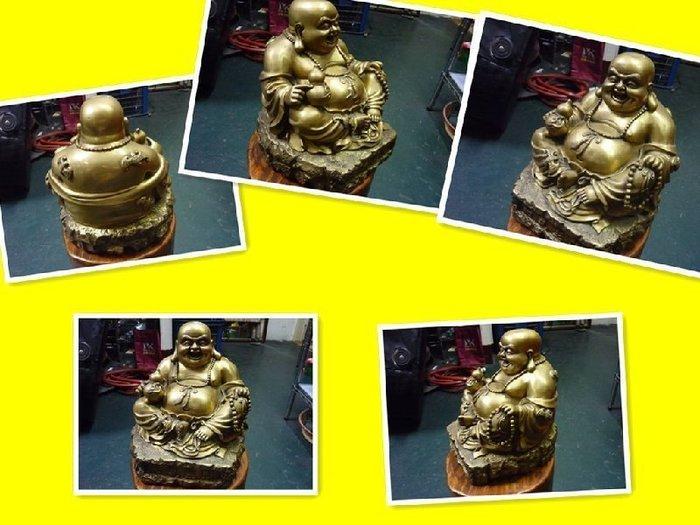 二手舖 彌勒佛 彌勒佛 銅雕 雕像 和氣生財 旺財 祈福如意 便宜賣