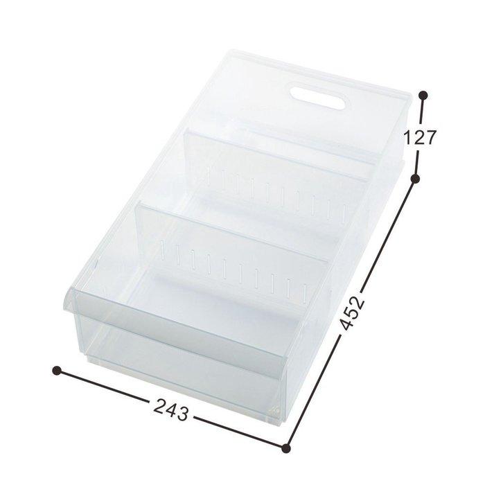 『6個以上另有優惠』LF1002 六入組隔板整理盒附輪/PP收納盒/透明整理箱/衣物收納箱/襪子收納/整理盒/無印風格