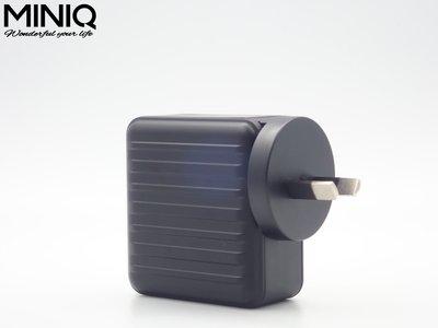 (現貨) MINIQ AC-DK50T雙孔USB充電頭6s手機6plus快充x插頭7p雙口華為p20快速充電 萬國充電器