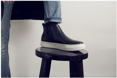 Myplace.com 牛皮 / 厚底【Cowhide boots】