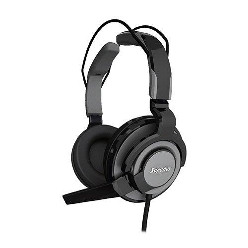 *硬派精璽* SuperLux 舒伯樂 HMC631 專業電競耳機麥克風灰000134000048