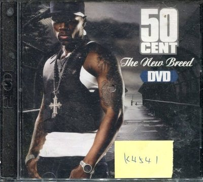 *真音樂* 50 CENT / THE NEW CD+DVD 二手 K4541 (封面底破)(清倉.下標賣3)