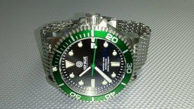 deep blue深藍機械錶(oris mido Hamilton可參考)