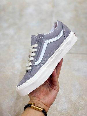 秋冬上新 范斯Vans Style36這雙鞋是Old Skool的前身 權志龍著 帆布鞋 灰色低幫 男鞋 女鞋 百搭款